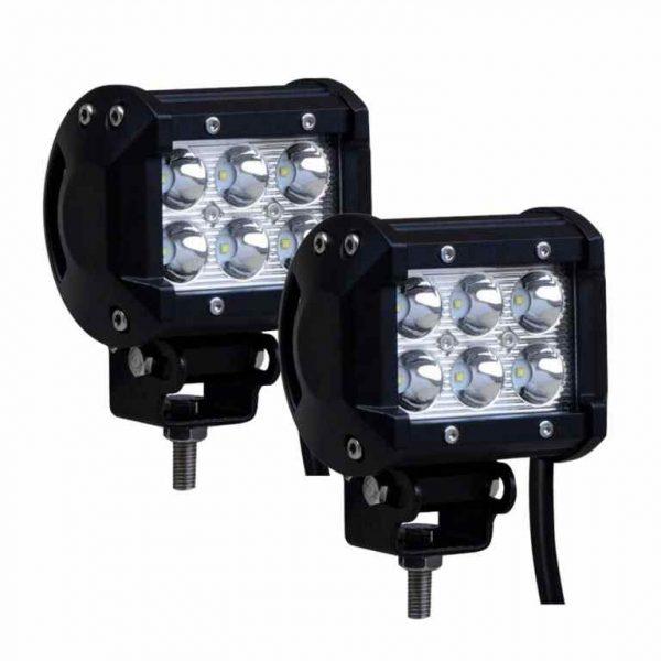 Beamer Series | 6 LED Fog Light - Work Light Bar Spot Beam For All Bikes