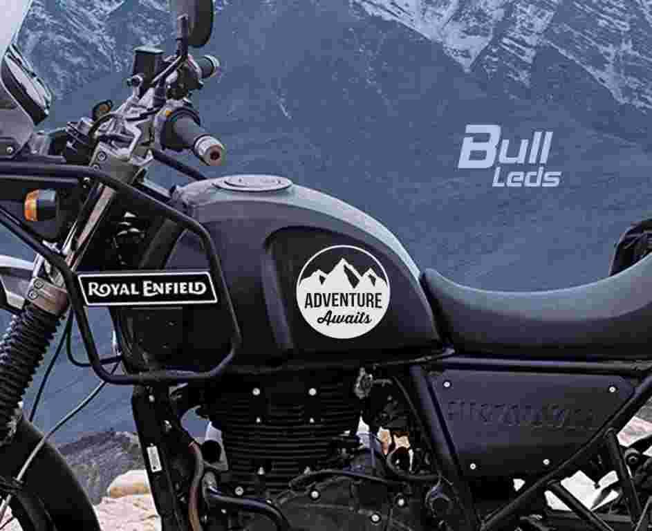 Bull Prints Royal Enfield Himalayan Adventure Awaits 2pcs