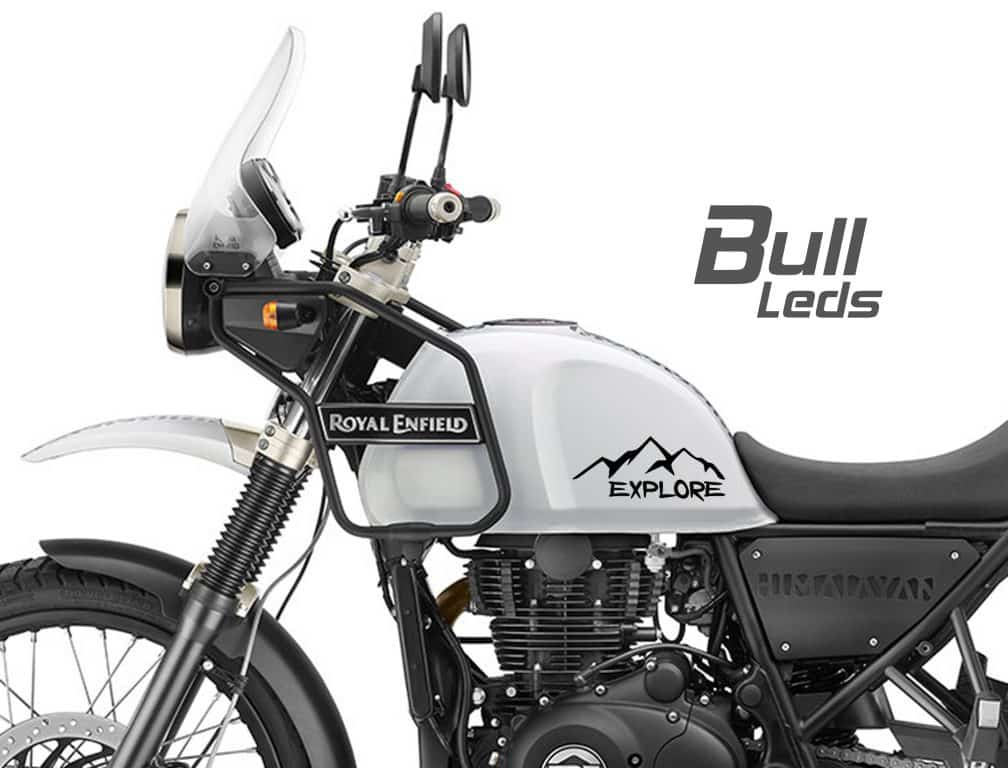 Royal Enfield Himalayan Sticker Decal Explorer Mountains