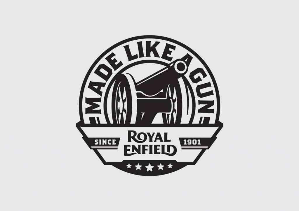 Bull Prints Gt Royal Enfield Made Like A Gun Black Bull