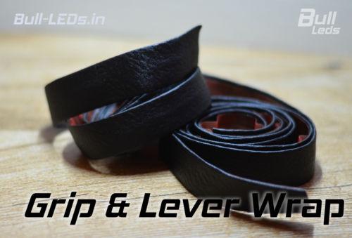 Bull-LEDs | Black Premium Grip Wrap | Royal Enfield Harley
