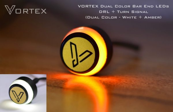 VORTEX | LED Dual Color Bar End Indicators For Royal Enfield