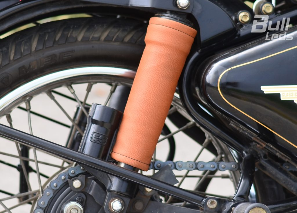 Shock Absorber Sleeves For Royal Enfield And Other Dual Shock Bikes