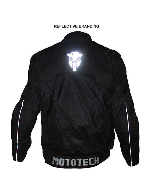 MotoTech Scrambler Air Armoured Motorcycle Jacket With 3 Layers Inner