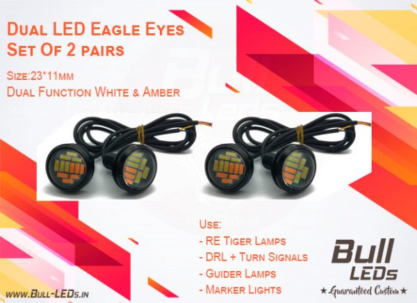 Bull-LEDs | Dual LEDs Eagle Eyes