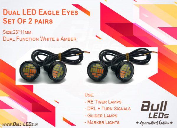 Bull-LEDs | Dual LEDs Eagle Eyes