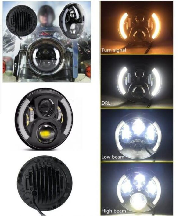 Royal Enfield Headlight DRL