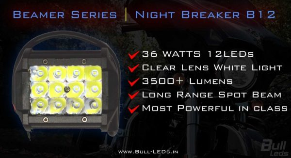 Beamer Series | Night Breaker B12 Spot Auxiliary LED Royal Enfield