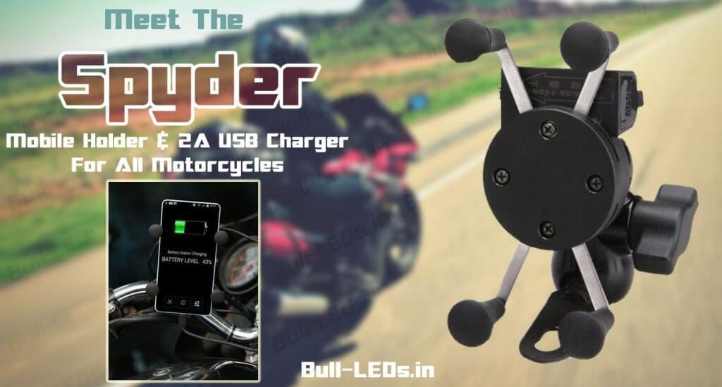 Sypder Mobile Holder and Charger