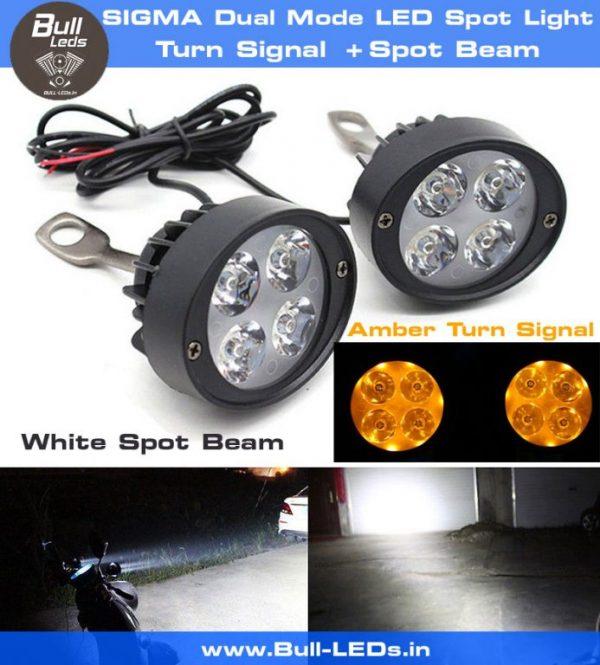Bull-LEDs | SIGMA Dual Spot-Turn Mirror Mount Spotlight LED