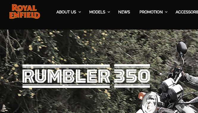 Have you heard about Royal Enfield Rumbler?