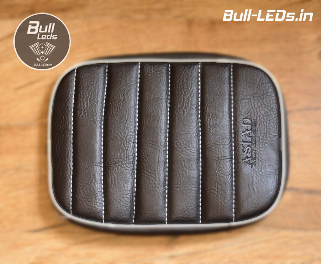 Excellent Bull Leds Royal Enfield Classic Cushioned Custom Seat Covers Evergreenethics Interior Chair Design Evergreenethicsorg