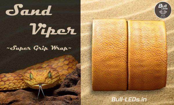 Bull-LEDs | Sand Viper Premium Grip Wrap | Royal Enfield Harley