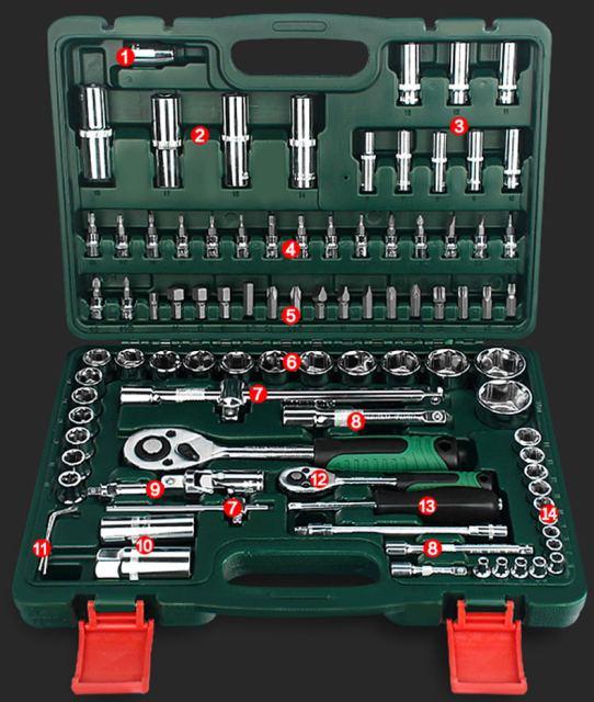 94 pcs Mechanic Tool Kit