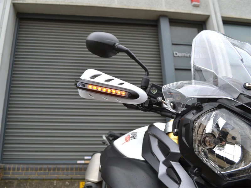 Bull Leds Motorcycle Led Handguards For Royal Enfield Type2