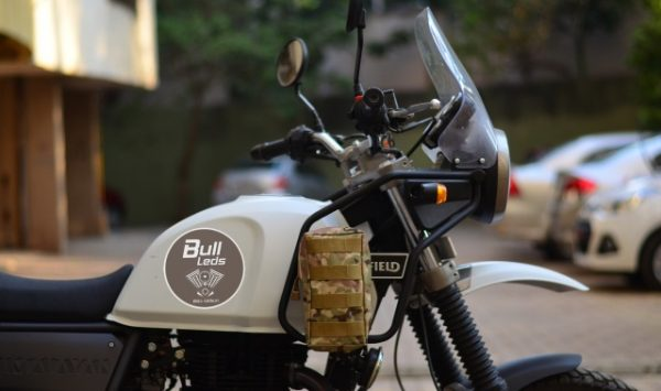 Bull-LEDs | Compact Removable Motorcycle Pouch For Himalayan