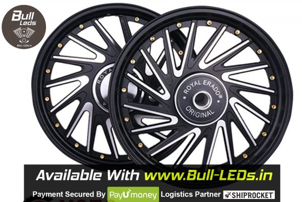 Bull-LEDs | Royal Erado 16 Spokes Gold Decoration Classic Alloys