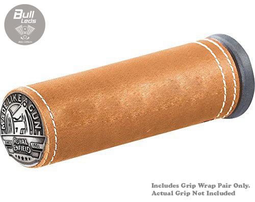 Bull-LEDs | Vintage Grip Wraps Bike Handle Grip (Light Desert Tan) Pair